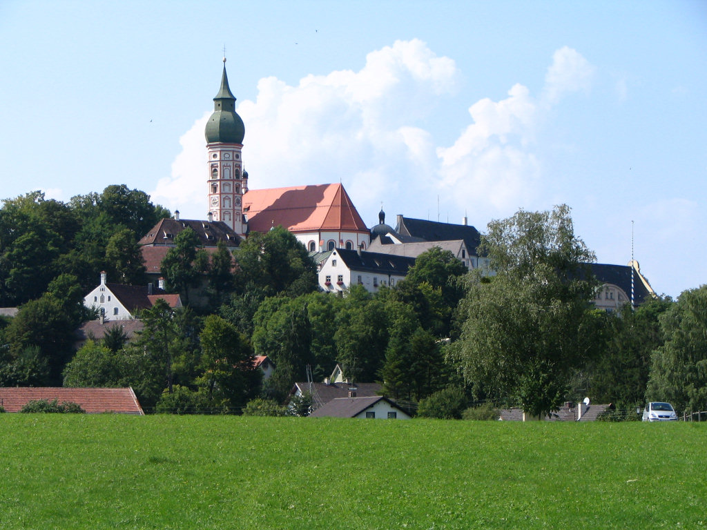 Монастырь в Андексе