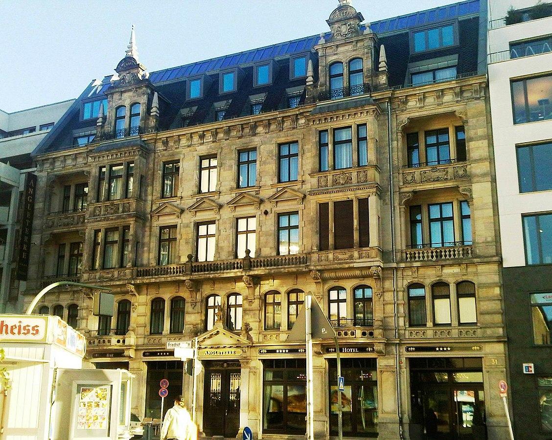 Отель Angleterre в Кройцберге