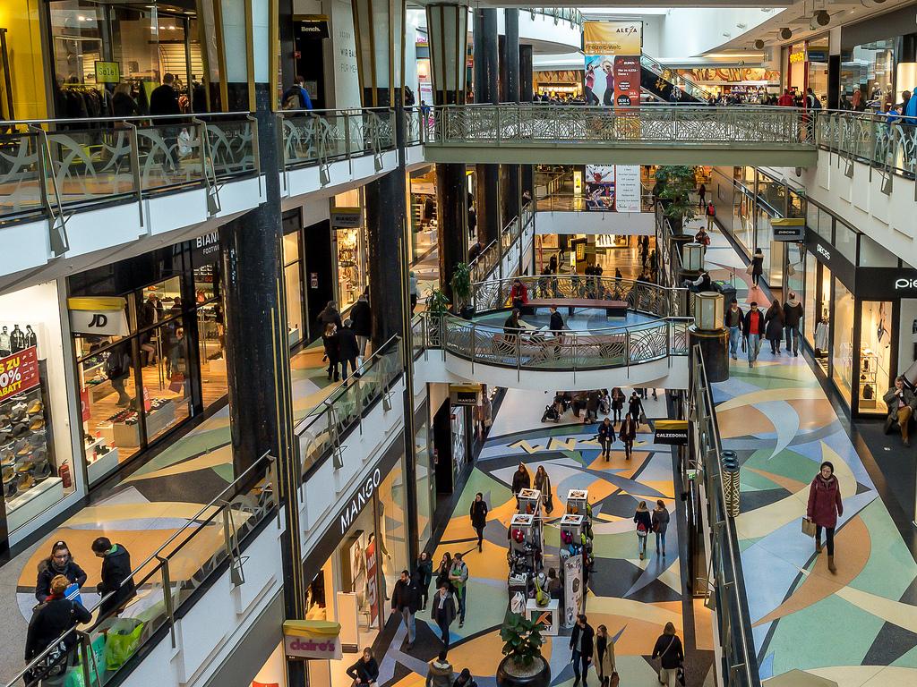 Торговый центр «Алекс» в Берлине