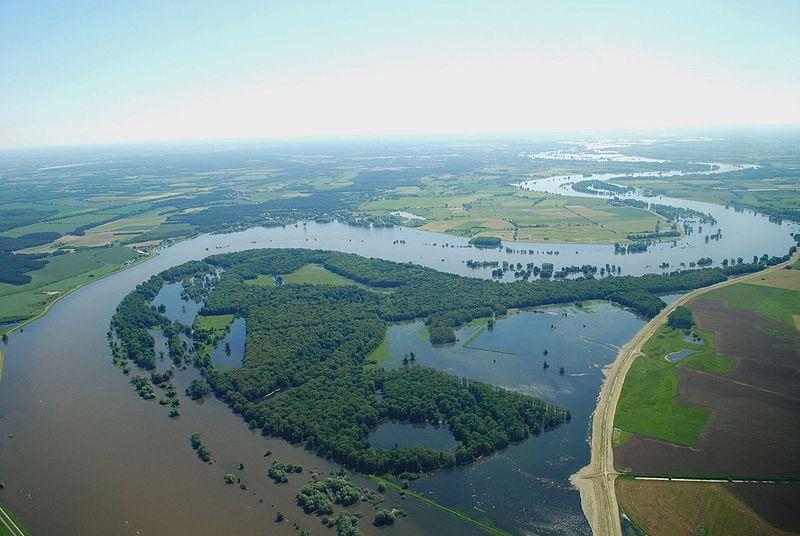 Flusslandschaft Elbe