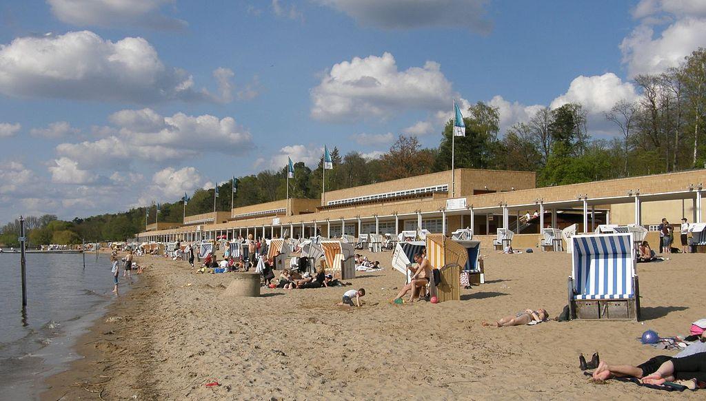 Пляж Strandbad Wannsee