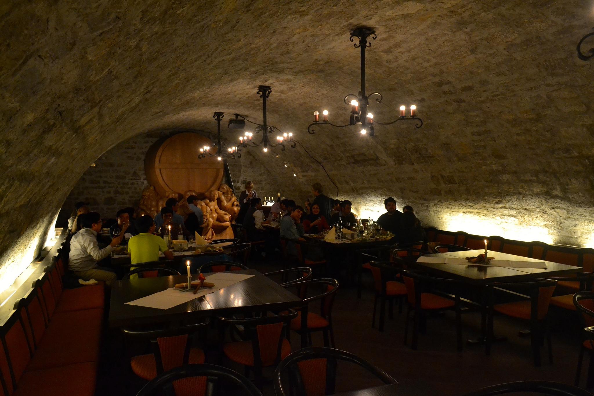 Дегустация вин в ресторане Бюргершпитал