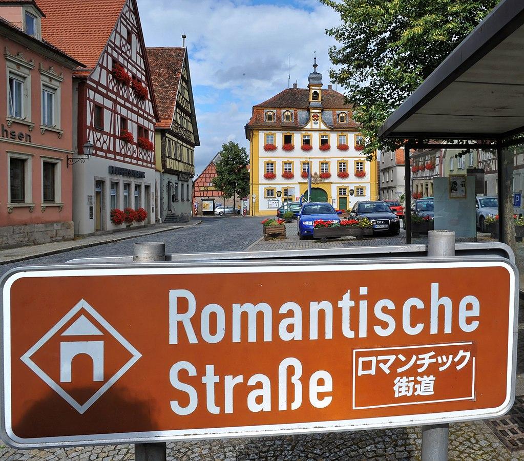 Рёттинген на маршруте Романтической дороги