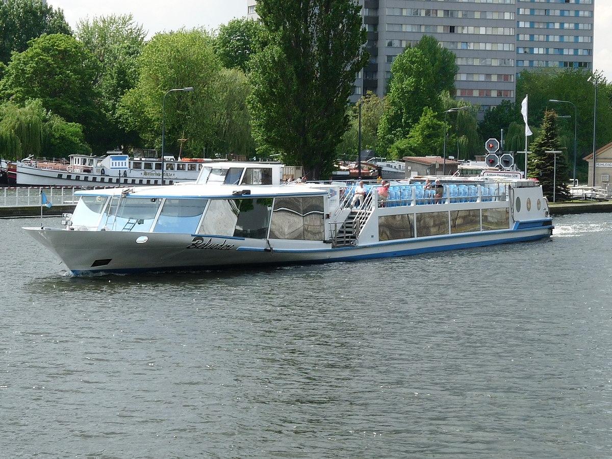 Корабль Stern und Kreisschiffahrt