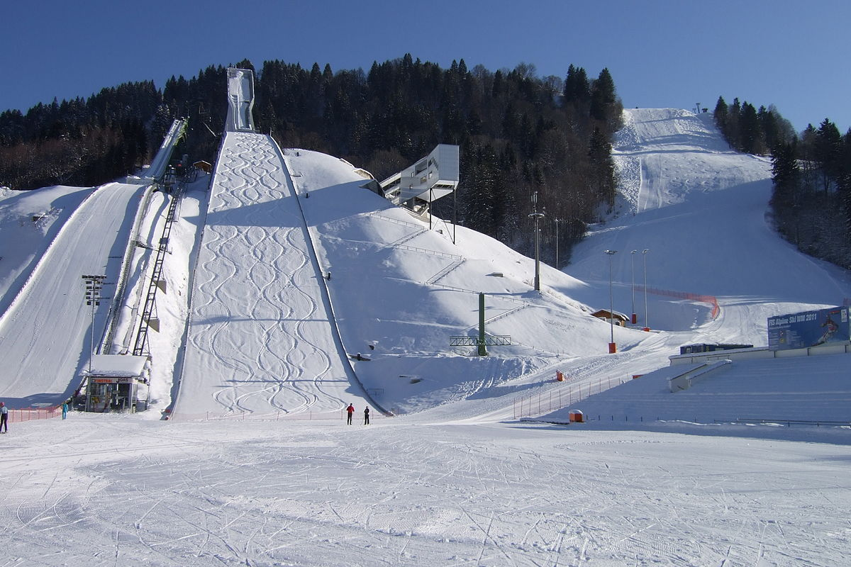 Большой Олимпийский трамплин в Гармиш-Партенкирхене