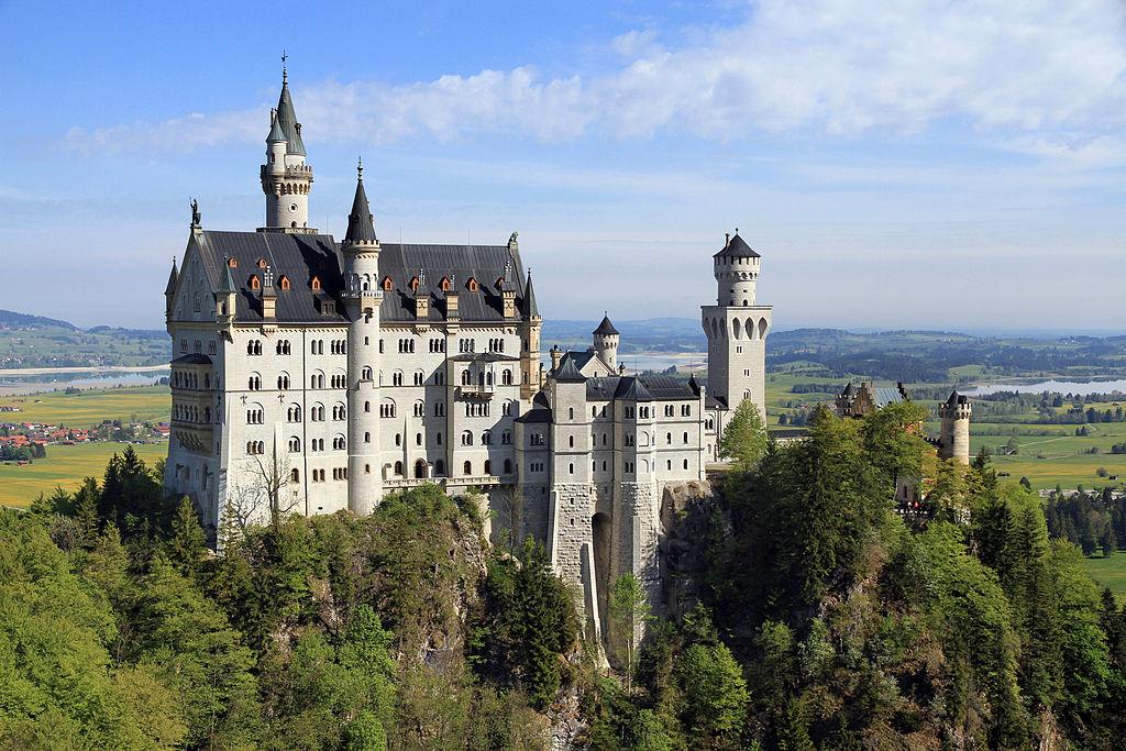Замок Нойшванштайн, Германия, что посмотреть и что делать рядом