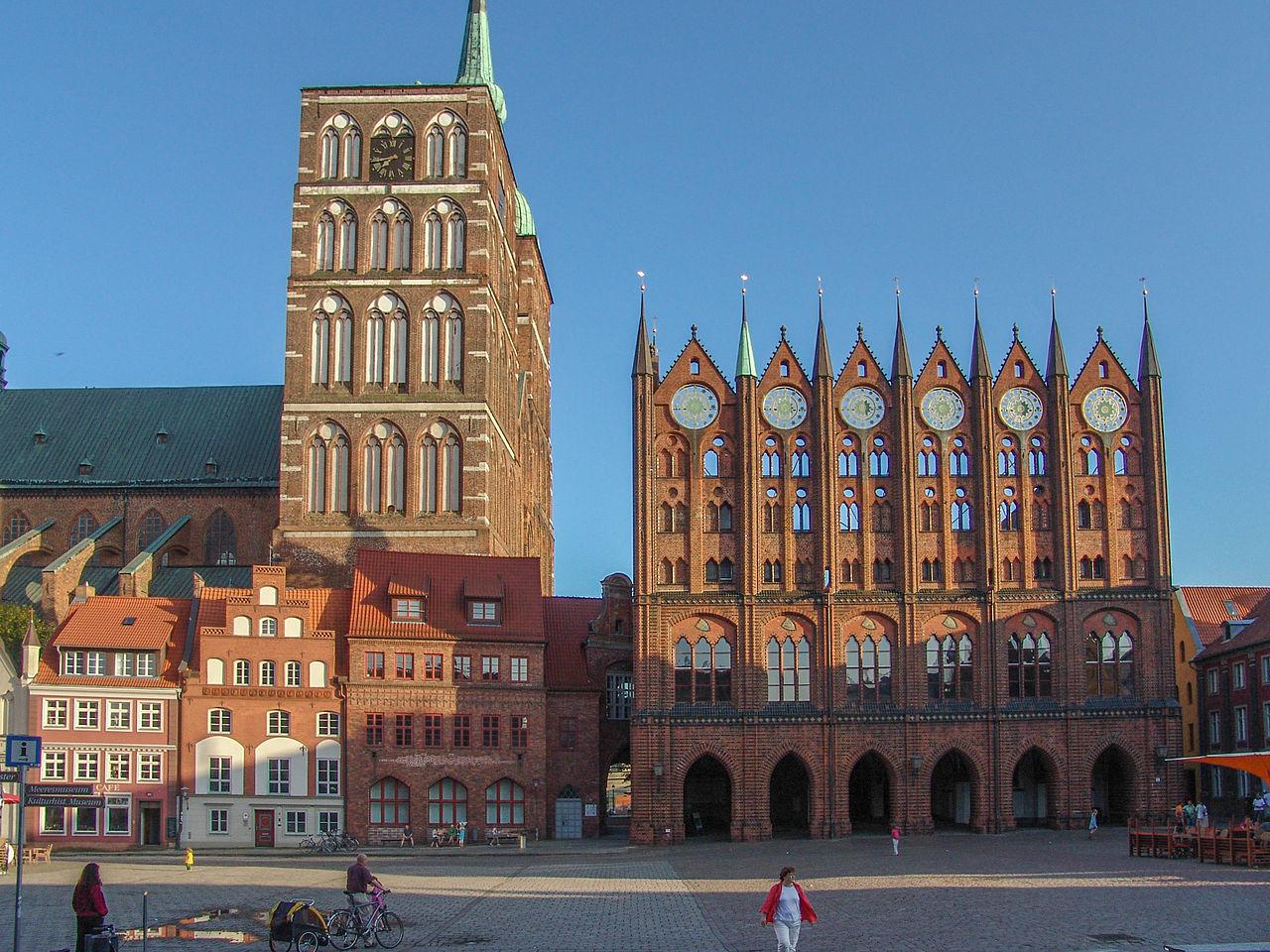 Штральзунд, Германия: лучшие достопримечательности, что посмотреть в городе, где поесть, отзывы туристов