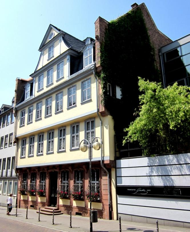 Франкфурт: Дом музей Гете