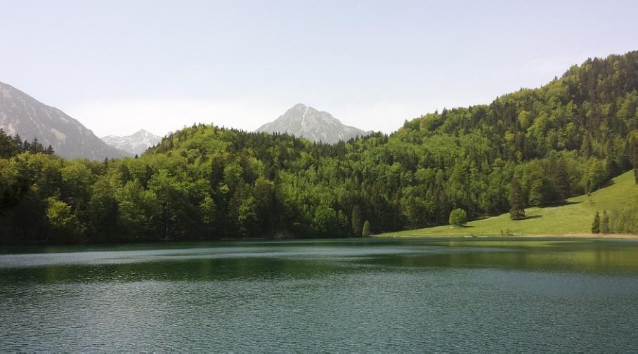 Умиротворение и спокойствие озера Alatsee