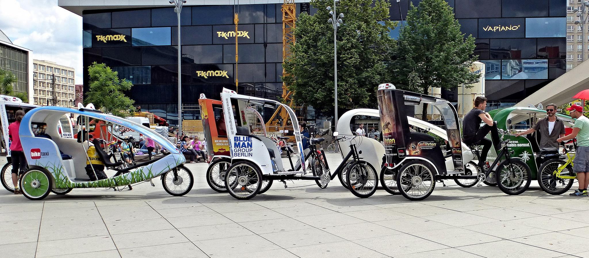 Велотакси в Берлине