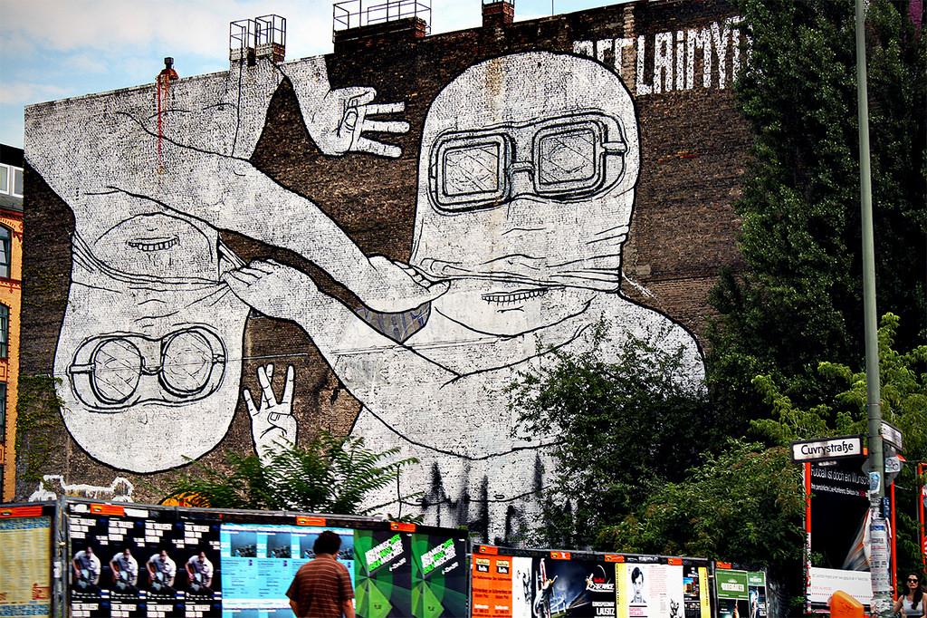 Граффити в Кройцберге