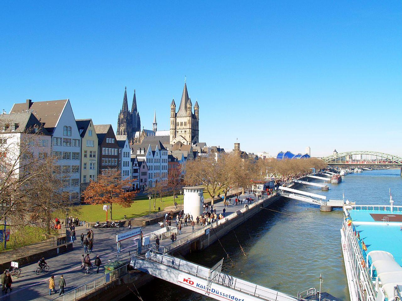Кёльн и северная часть бассейна Рейна: особенности региона, история, старый и новый облик